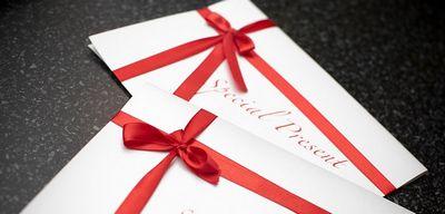 Билет – интригующий подарок