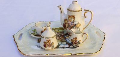 Чайный сервиз в подарок: идеи для оформления