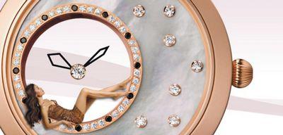 Часы с невесомой стрелкой mystery от ники – элемент таинственности в женском образе