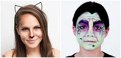 Грим на хэллоуин в домашних условиях (пошаговые мастер-классы с фото и видео)