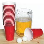 Игры с алкоголем для вечеринки: beer pong