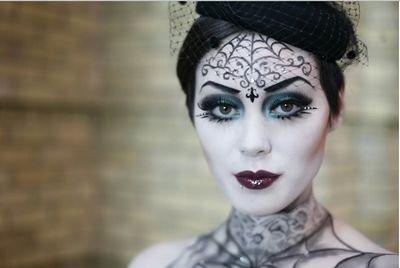 Как раскрасить лицо на хэллоуин 2016 в домашних условиях, фото