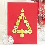 Как сделать объемные новогодние открытки из бумаги своими руками