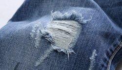 Как сделать потертости на джинсах?