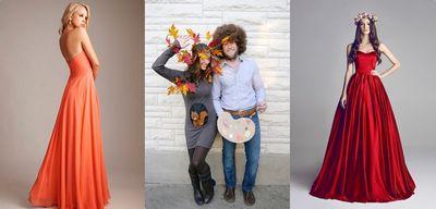 Костюм на осенний бал своими руками для девочки и мальчика в детский сад или школу. представление осеннего костюма и защита