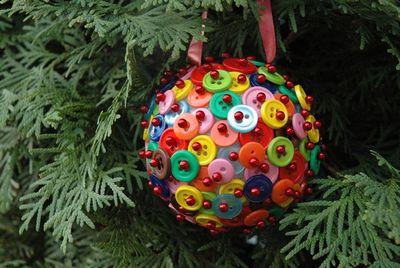 Новогодние шары своими руками: фото мастер-класс