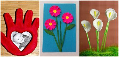 Поделки на 8 марта маме своими руками — мастер-классы с фото для младшей и старшей группы детского сада — как сделать поделку на 8 марта из бумаги, ватных дисков, салфеток для мамы, бабушки