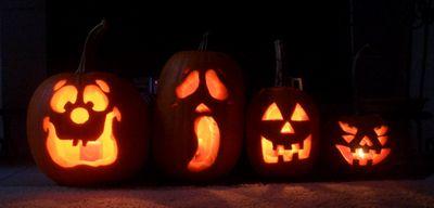 Празднование хэллоуина 2016
